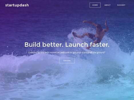 Entrepreneur-Curated Startup Platforms - 'startupdash' Offers Startup Resources and Tools to Succeed