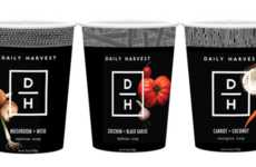 Soup Delivery Services - 'Daily Harvest' Now Offers Frozen Soups in Addition to Smoothies