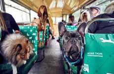 Canine Bus Tours - Pet Insurance Provider 'More Than' Created the 'K9' City Tour Bus for Dogs