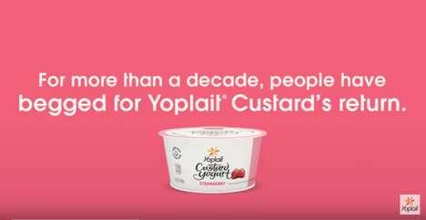 Resurrected Yogurt Snacks