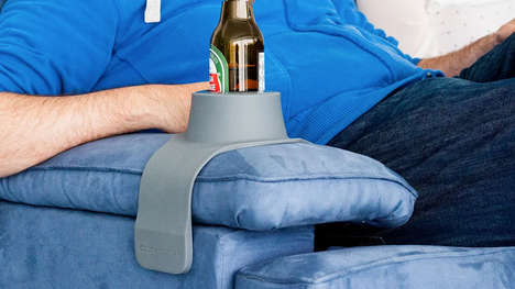 The 'CouchCoaster' Keeps Beverages Secure When Placed Down