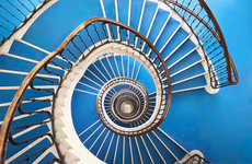 Whimsical Staircase Photography
