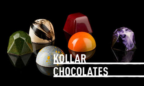 Artistic Chocolate Truffles - Yountville's Kollar Chocolates Serves Up Instagram-Worthy Truffles