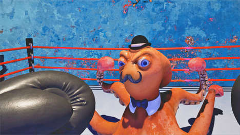 Cartoonish VR Boxing Games