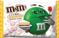 Cheesecake-Flavored Chocolate Candies - The Cheesecake M&M's are a Valentine's Day Offering