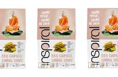 Vitamin-Rich Veggie Chips - The inSpiral BBQ Chipotle Savoy Cabbage Crisps are Flavorful and Healthy