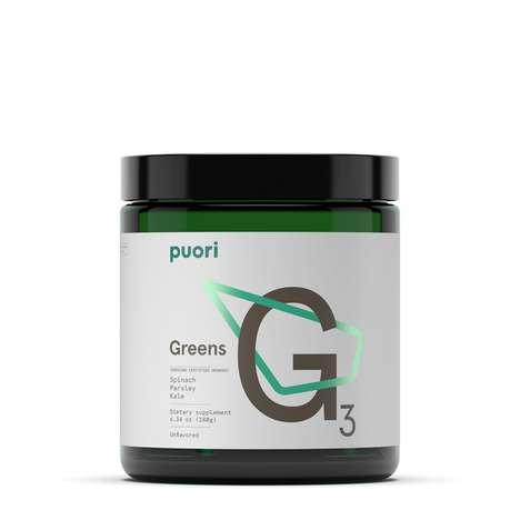 Green Nutrient-Dense Supplements