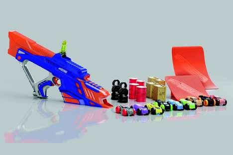 Vehicular Dart Blasters