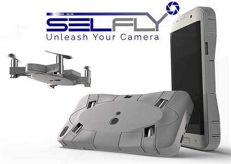Smartphone Drone Cameras
