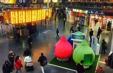 Cozy Commuter Pods - Vaillant Set Up 'Warmth Pods' in UK Travel Stations for Warmth Week