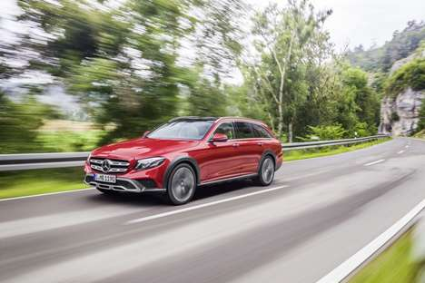 SUV-Inspired Station Wagons - The Mercedes E-Class All-Terrain is Part Estate and Part SUV