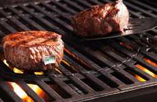 LED Indicator Meat Thermometers - The 'Steak Champ' Steak Thermometer Lets You Know When it's Ready