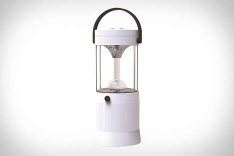Saltwater-Powered LED Lanterns