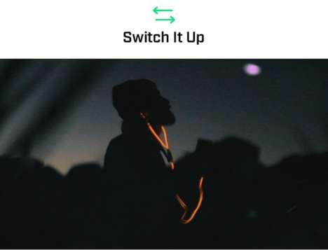 Illuminating Headphone Cables