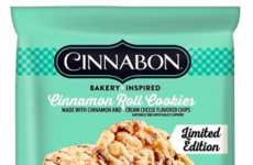 Cinnamon Roll Cookies - Pillsbury's Limited-Edition Flavor is a Collaboration with Cinnabon