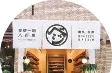 Designer Produce Shops - Tokyo's 'Vegeo Vegeo' is a Greengrocer with Style