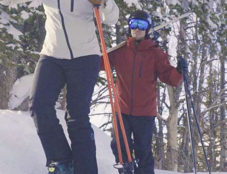 Temperature-Regulating Ski Pants