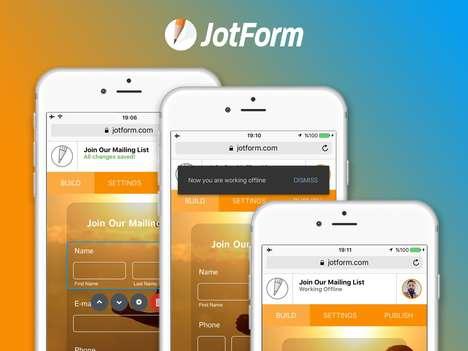 Mobile Form-Building Apps