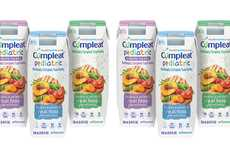Nutrient-Rich Baby Formulas - The New Compleat Formulas for Tube Feeding are Nutritionally Complete