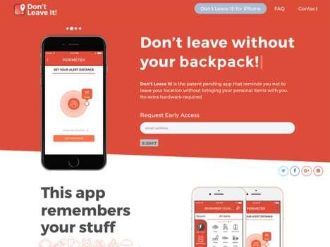 Belongings-Remembering Apps