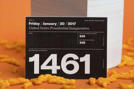 Presidential Countdown Calendars - The Out-Of-Office Calendar Counts Down Until Trump's Term Ends