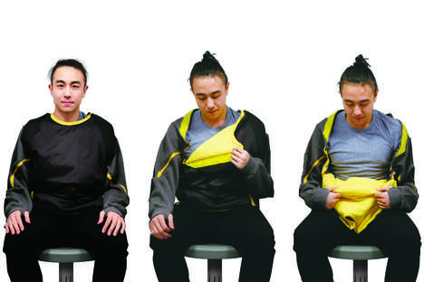 Differently Abled Outerwear Jackets - The 'Easy Jacket' is Simple to Put on and Take Off