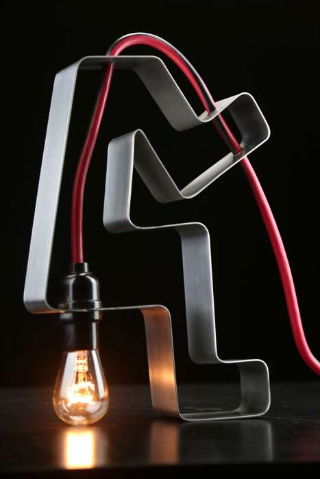 Memory Satire Lamps - The 'Foolamp' Sculpture Light Comments on Information Retention