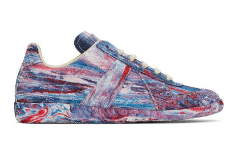 Vibrant Tie-Dye Sneakers - Maison Margiela Released a Pair of Multicolored Sneakers for Spring