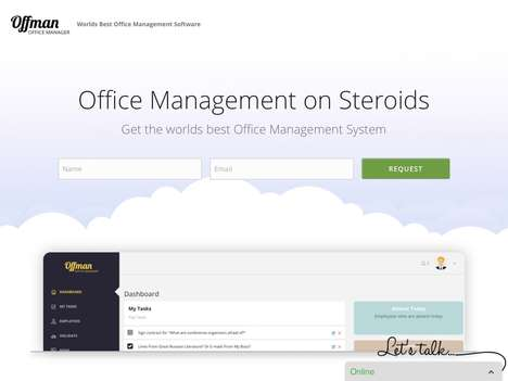 Digital Office Management Platforms - The 'Offman' Office Management Software Keeps Things Organized