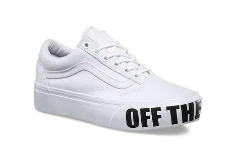 Platform Skate Sneakers