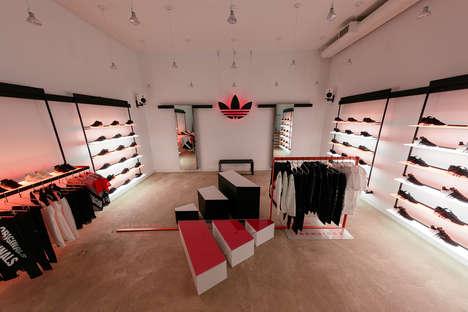 Minimalist Sneaker Pop-Ups