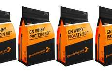 Dessert Whey Protein Powders - The GoNutrition Salted Caramel Protein Supplement Curbs Cravings