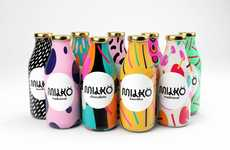 Pop Art Milk Packaging