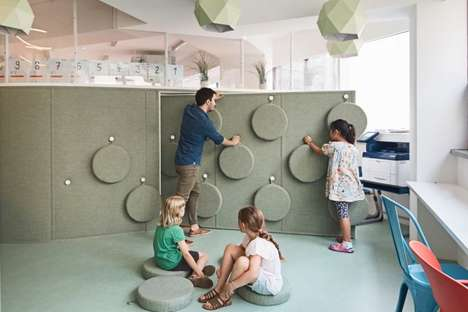 Tactile Classroom Interiors - DSSI Elementary School's Renovation Encourages Active Learning
