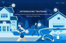 Smart Home-Controlling Apps - Truthing is a Home Automation Startup That Offers One Gateway
