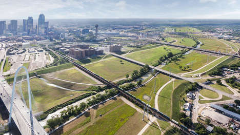 Flood-Accommodating Park Designs - This New Dallas Park Adapts to Constant Flooding Conditions
