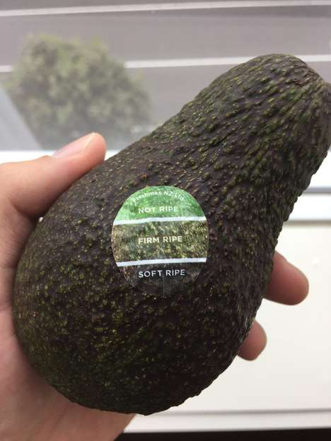 Ripeness-Revealing Stickers - The Freshmax Fruit Stickers Help Shoppers Pick Ripe Avocados