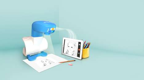 Traceable Artwork Projectors - The 'FollowGrams' Trace and Draw Projector Helps Kids with Art Skills