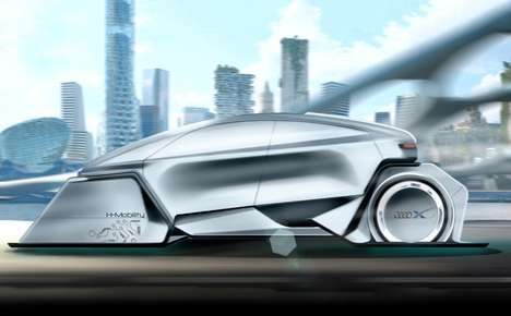 The 'Hornet' Car Vehicle Design is an Automobile of the Future