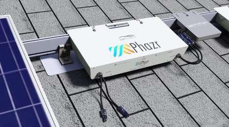 Utility-Scale Solar Batteries