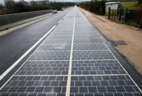 Groundbreaking Solar Panel Roads - France Has Built the World's First Solar-Powered Road