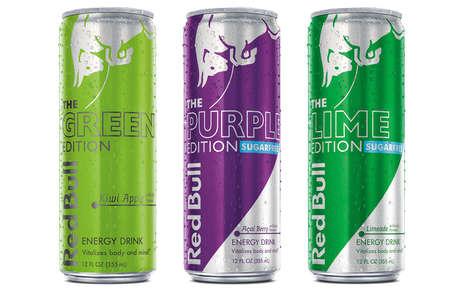 Exotic Energy Drinks Flavors