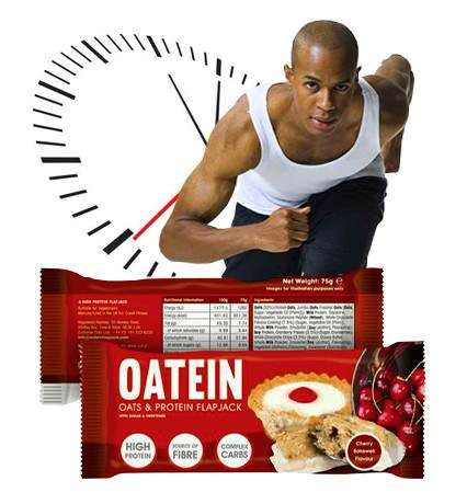 Protein-Rich Oat Bars