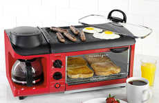 Family Breakfast Makers - Nostalgia Electrics 3-in-1 Breakfast Stations Cook Meals for the Family