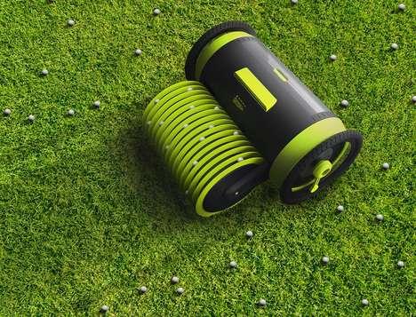 Autonomous Golf Course Robots