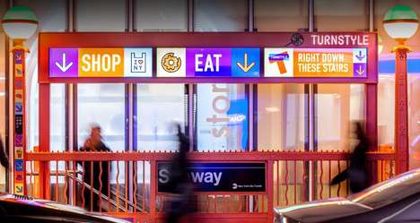 Hidden Underground Food Courts - Turnstyle Columbus Circle is Accessible Through the NYC Subway