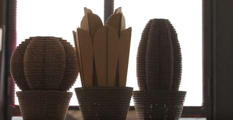 Cardboard Cactus Air Purifiers