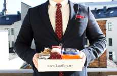 Masculine Style Subscription Services - 'LustBox' Monthly Subscription Boxes are Filled with Goodies