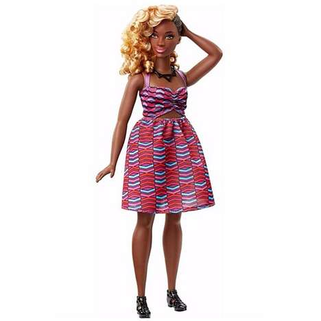 Body-Positive Doll Collections - The New Barbie Fashionistas Collection Features Diverse Body Types