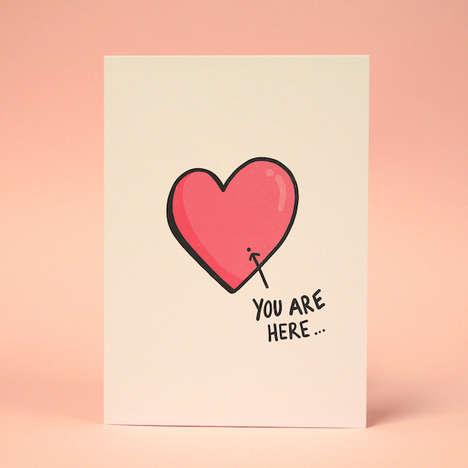 Unrequited Love Valentine's Cards